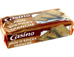 Pain d'épices en tranches Casino - 500 g