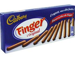 Finger Cadbury - 138 g