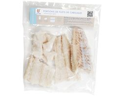 Filets de cabillaud en portions - 600 g