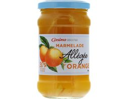 Marmelade allégée orange Casino - 340 g