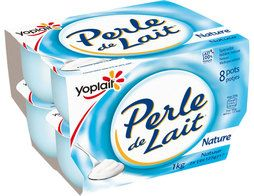 Perle de Lait nature Yoplait - 8 x 125 g