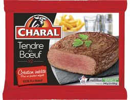 Tendre de boeuf Charal - 2 x 120 g