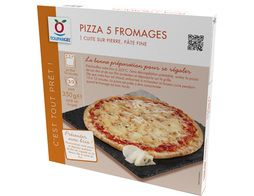 Pizza surgelée 5 fromages - 350 g