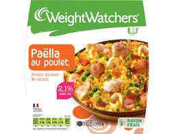 Paella fruits de mer poulet Weight Watchers - 300 g