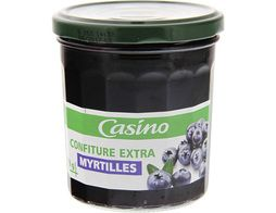 Confiture extra myrtilles Casino - 370 g