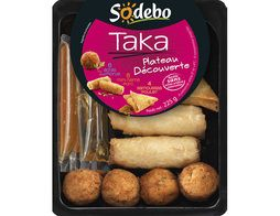 Assortiment asiatique Sodebo - 225 g