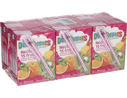 Nectar aux 15 fruits Les Doodingues de Casino - 6 x 20 cl