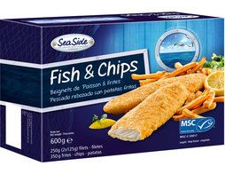Fish & Chips surgelé - 600 g