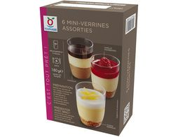 6 mini-verrines assorties - 180 g