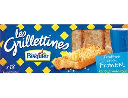 Grilletines tradition froment Pasquier - 242 g