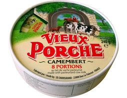 Camembert portions Vieux Porche - 8 x 30 g