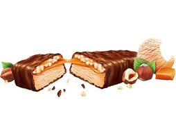 Barres glacées Snickers noisettes - 6 x 40,8 g
