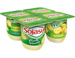 Citron fruits mixés Sojasun - 4 x 100 g