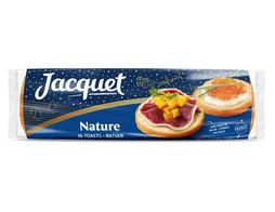 Toasts ronds nature Jacquet - 250 g