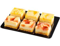 12 mini-cheesecakes assortis - 216 g