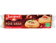 36 toasts ronds briochés Jacquet - 250 g