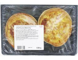 2 quiches lorraines pur beurre - 2 x 120 g