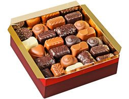 Ballotin de chocolats, assortiment grand confiseur - 500 g