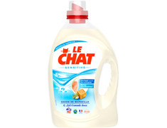 Lessive liquide Le Chat Sensitive - 40 lavages - 3 l