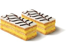 2 millefeuilles individuels - 2 x 130 g