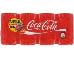 Coca-Cola mini-canettes - 8 x 15 cl