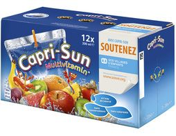 Jus de fruits Capri-Sun multivitamines - 12 x 20 cl