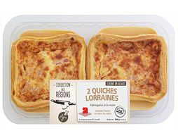 Quiches lorraines pur beurre - 2 x 150 g