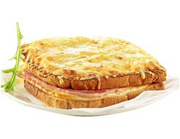Lot de 2 croques monsieur micro-ondable - 2 x 180 g