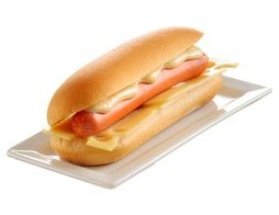 Lot de 2 hot dogs micro-ondables - 2 x 120 g