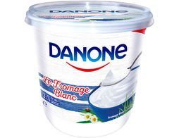 Le fromage blanc Danone - 825 g
