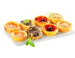 Assortiment de 8 mini quiches - 160 g