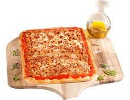 Lot de 2 pizzas rectangulaires au choix - 2 x 600 g