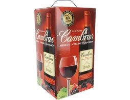 Vin rouge de table Cambras - 5 l