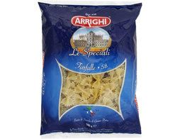 Pâtes italiennes papillons n°58 Farfalle Arrighi - 500 g