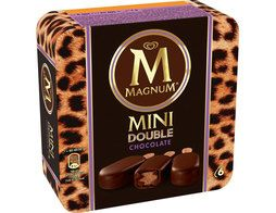 Assortiment de 6 mini Magnum double - 6 x 50 g (6 x 60 ml)