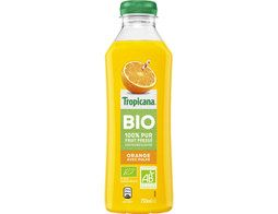 Jus d'orange avec pulpe BIO Tropicana - 75 cl