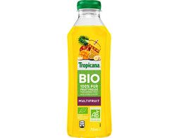 Jus multifruits BIO Tropicana - 75 cl