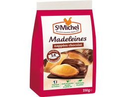 14 madeleines coquilles nappées chocolat St-Michel - 350 g