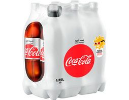 Coca-Cola light - 6 x 1,25 l