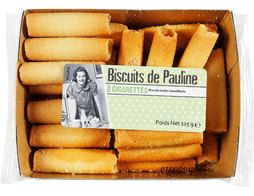 Biscuits cigarettes - 125 g