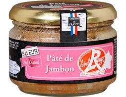 Pâté de jambon Label Rouge - 180 g