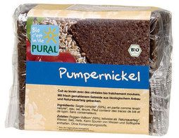 Pain pumpernickel BIO Pural - 375 g
