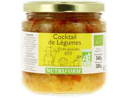 Cocktail de légumes BIO Nutriform - 380 g