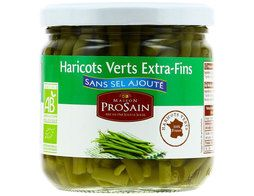 Haricots verts extra-fins BIO Prosain - 345 g