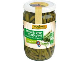 Haricots verts extra-fins BIO Danival - 345 g