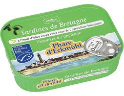 Filets de sardines aux olives Phare d'Eckmuhl - 100 g