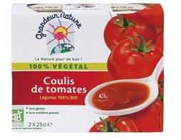 Coulis de tomate BIO Grandeur Nature - 2 x 25 cl