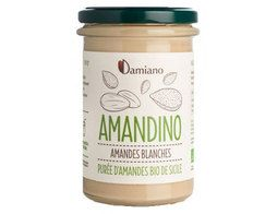 Purée d'amandes blanches Amandino BIO Damiano - 275 g