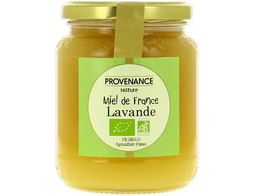Miel de lavande de France BIO Provenance nature - 500 g