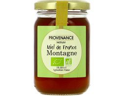 Miel de montagne de France BIO Provenance nature - 250 g
